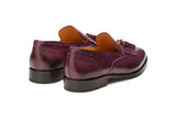 BROGUE WINGCAP KELTY LOAFERS- PURPLE