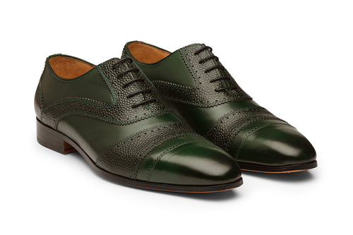 Toecap With Oxford