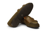 Double Strap Monk Loafers – O