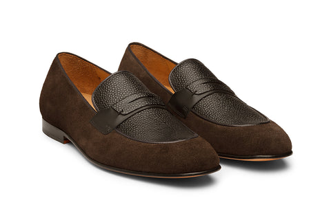 Penny Loafer With Apron-G