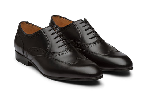 Wing Cap Half Brogue Oxford