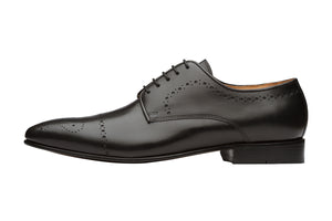 Brogue Derby  With  Medallion-B