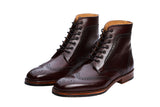 BROGUE BOOTS – BURGUNDY