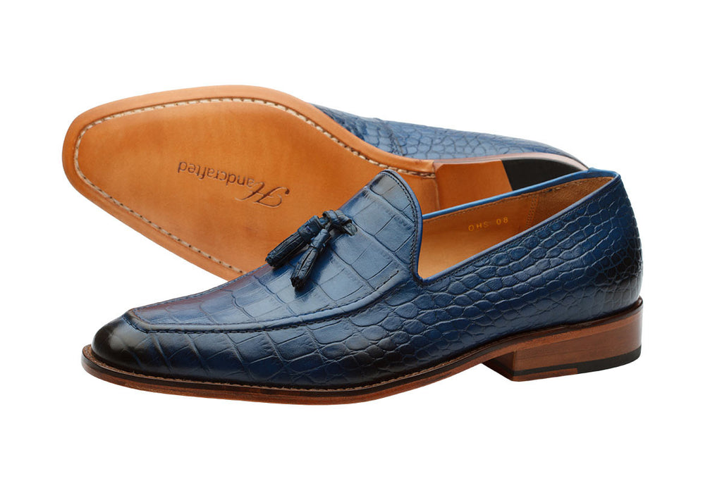 Tassel Loafer – Cobalt Blue