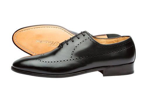 BROGUE OXFORD –BLACK