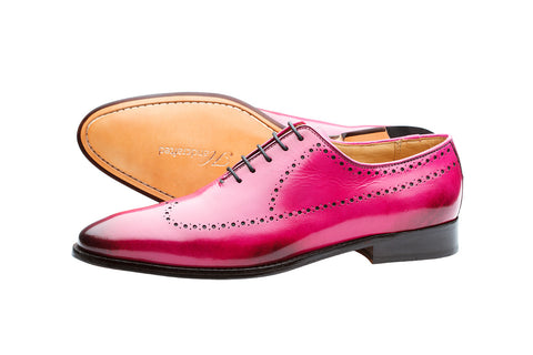 BROGUE WHOLECUT OXFORD –PINK
