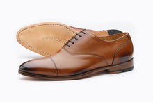 Load image into Gallery viewer, TOECAP OXFORD-TAN