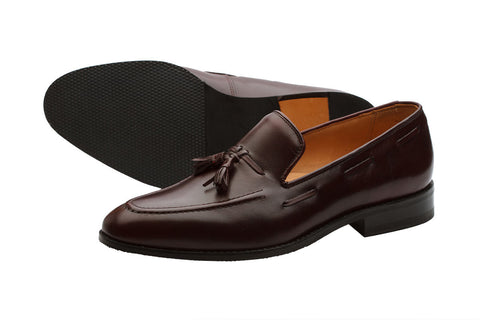 Tassel Loafer – Brown