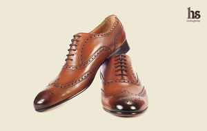Closed Cut Oxford Brogue