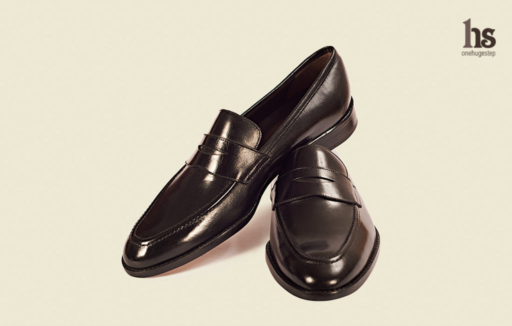 Penny Loafer with Cord Stitch on Vamp