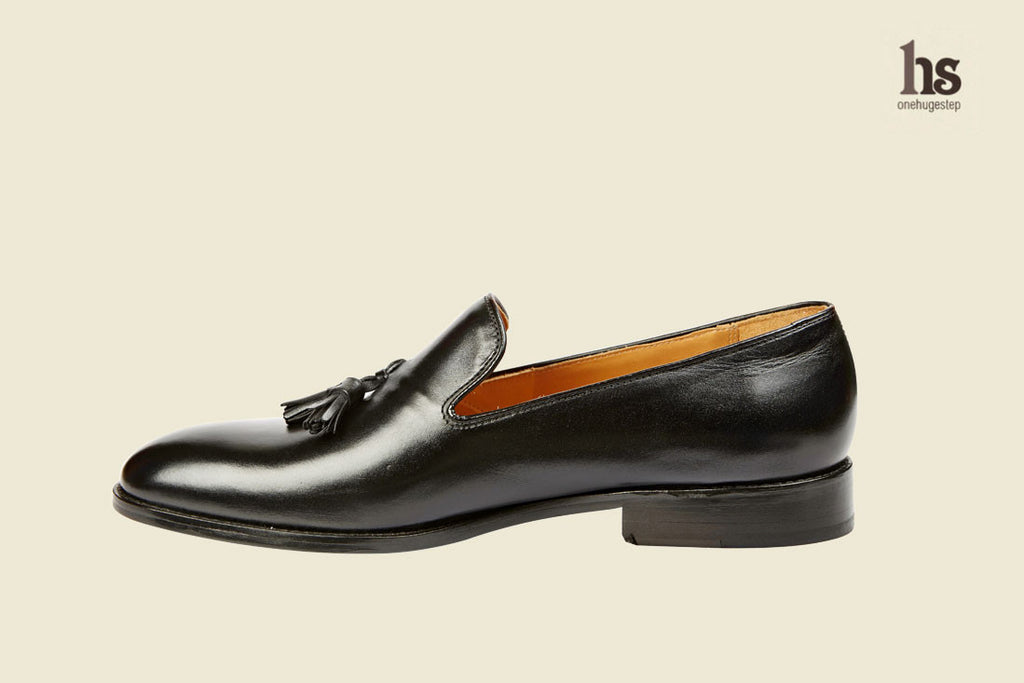 Plain Vamp Tassel Loafer