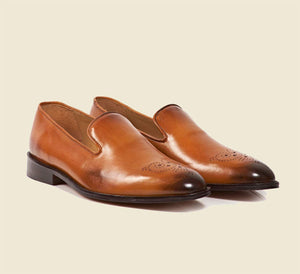Plain Loafer - British Tan