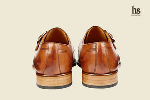 Toecap Single Strap Monk