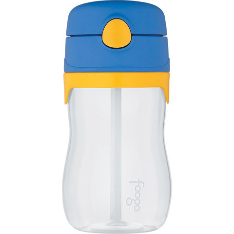 Thermos Foogo Phases Leak Proof Straw Bottle - Blue/Yellow