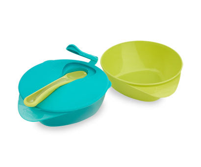 Tommee Tippee Explora Easy Scoop Feeding Bowls With Lid and Spoon [more colours..]