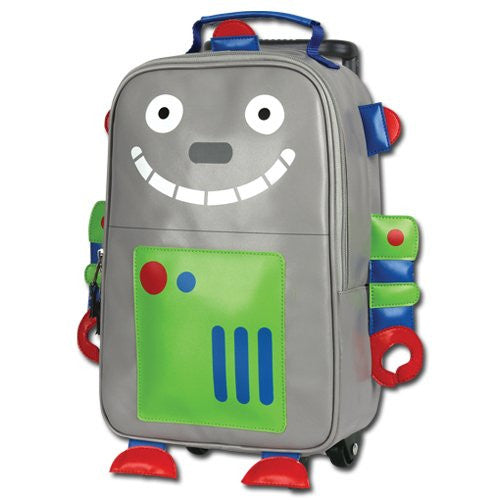 Stephen Joseph Boys 2-7 Rolling Backpack (Smiling Robot)