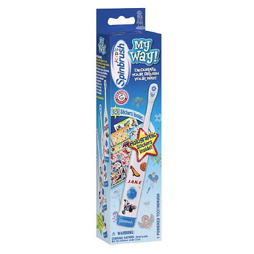 Arm & Hammer SpinBrush Kids My Way Powered Toothbrush for Boys