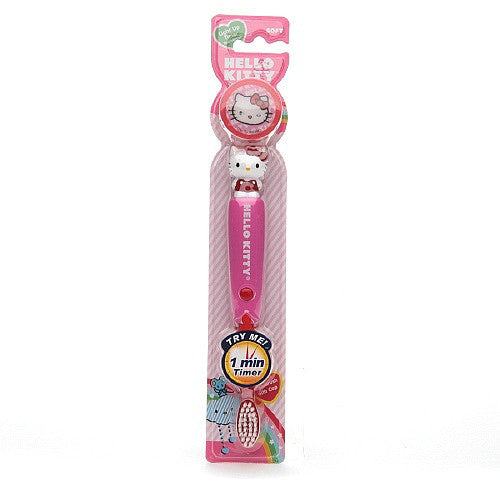 Firefly Kids! Hello Kitty Flashing Sculpted Toothbrush
