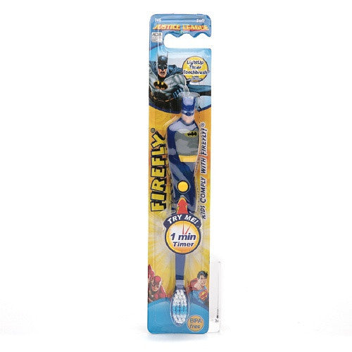 Firefly Kids! Batman Flashing Sculpted Toothbrush