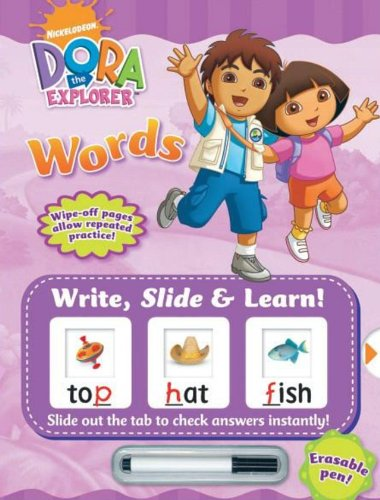 Write, Slide & Learn! Dora the Explorer Words [Hardcover]