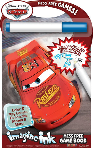Bendon Publishing Disney Cars Mess Free Game Book