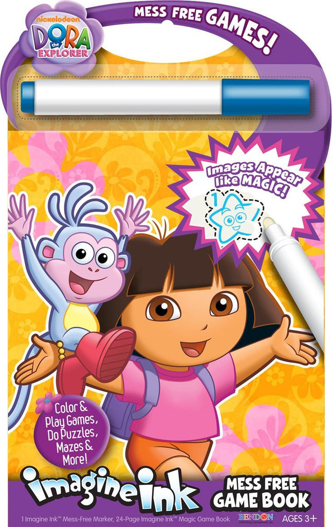 Bendon Publishing Dora Mess Free Game Book