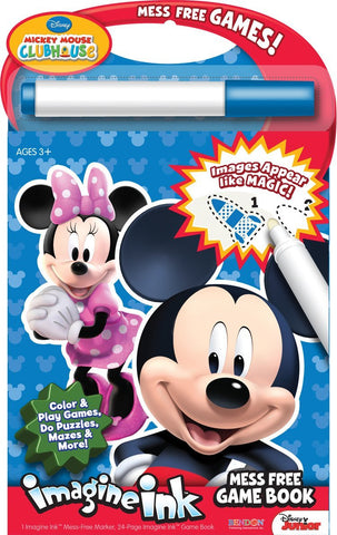Bendon Publishing Disney Mickey Mouse Clubhouse Mess Free Game Book