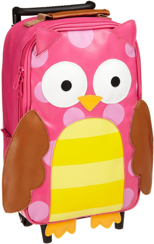 Stephen Joseph Girls 2-6x Girl's Rolling Backpack (Owl)
