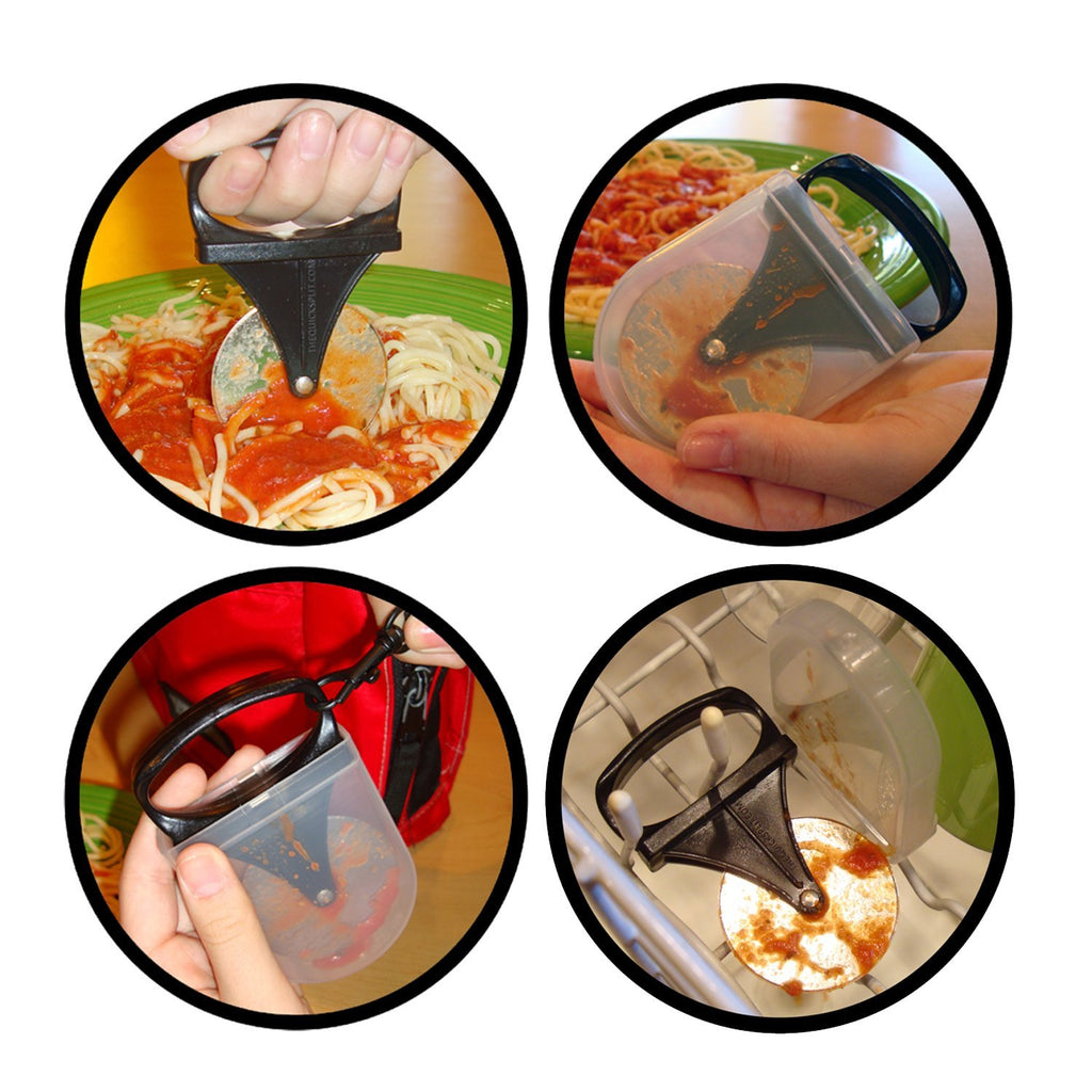 The Quick Split - USA Made Portable Food Cutter For Baby And Toddler Feeding