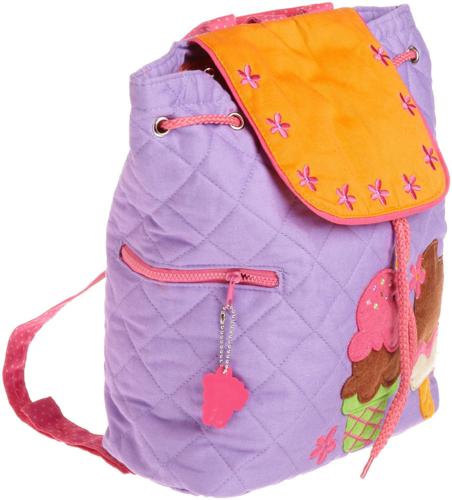 Stephen Joseph Girls 2-6X Quilted Backpack