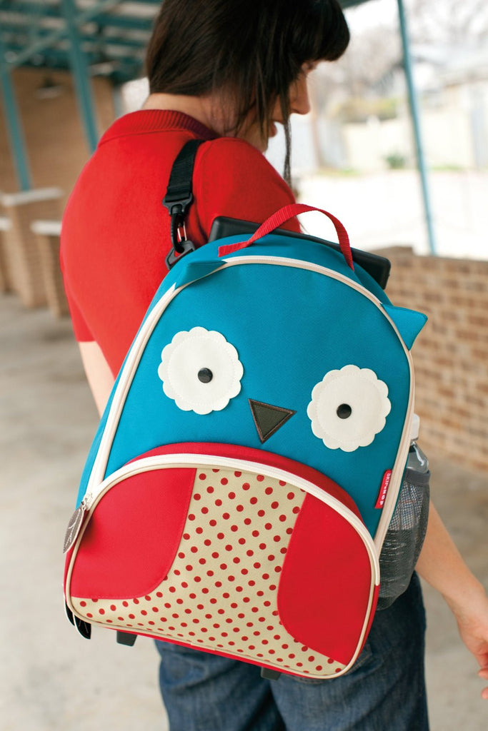 Skip Hop Zoo Little Kid Luggage (Owl)