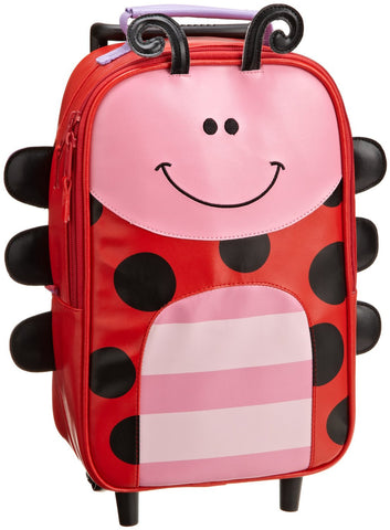 Stephen Joseph Girls 2-6x Girl's Rolling Backpack (Lady Bug)