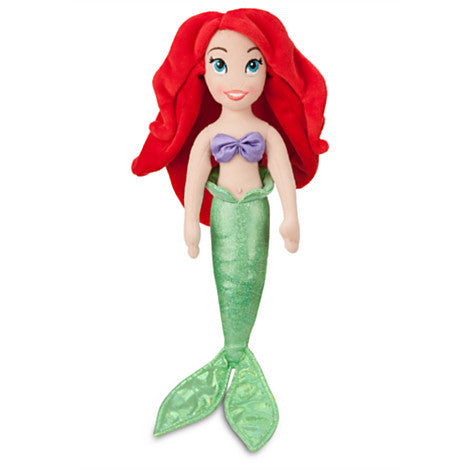 Ariel Mini Bean Bag Plush Doll - 12''