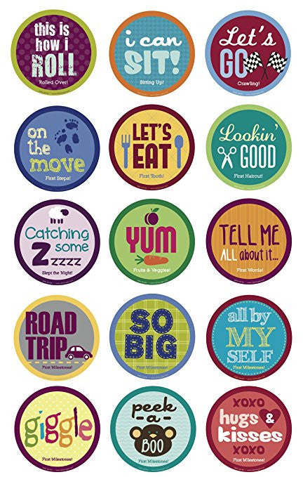 Belly Banter Baby MileStone Stickers For Girls and Boys