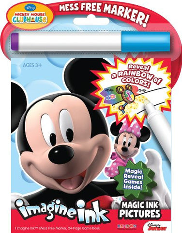 Bendon Publishing Disney Mickey Mouse Clubhouse Magic Ink Book