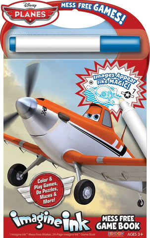 Bendon Publishing Disney Planes Mess Free Game Book