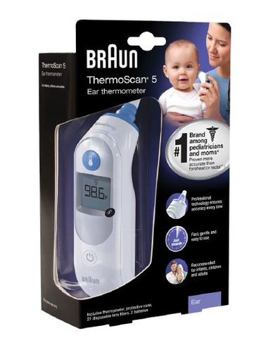 Braun Thermoscan 5 Ear Thermometer [NEW]
