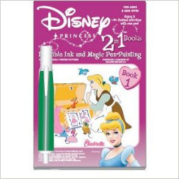 Cinderella Invisible Ink & Magic Pen Painting Book