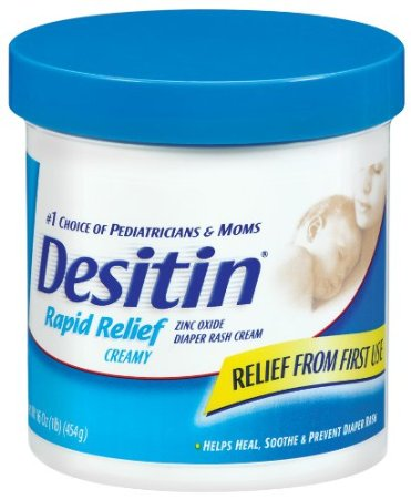 Desitin Rapid Relief Creamy 16oz Jar