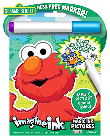 Bendon Publishing Sesame Street Imagine Ink Activity Book