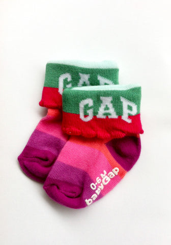 GAP socks - Multicolor (Girls, 0-6 Months)