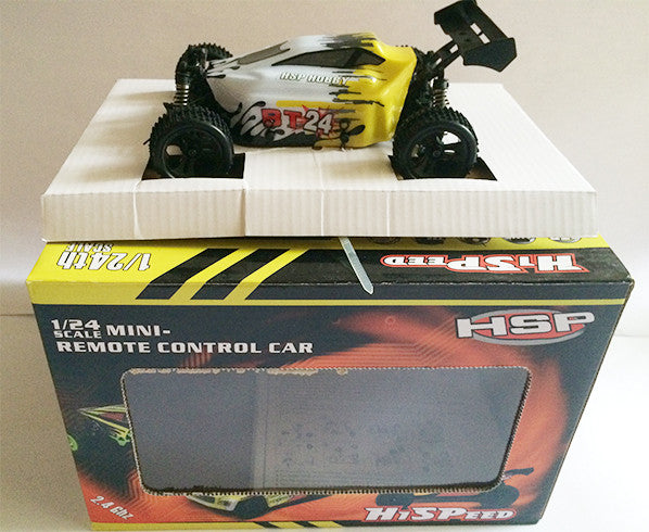 HSP Remote Control Car - BT24 Yellow