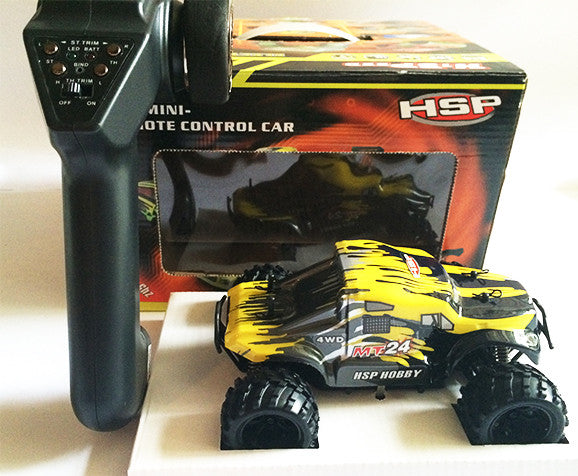 HSP Remote Control Car - MT24 Yellow