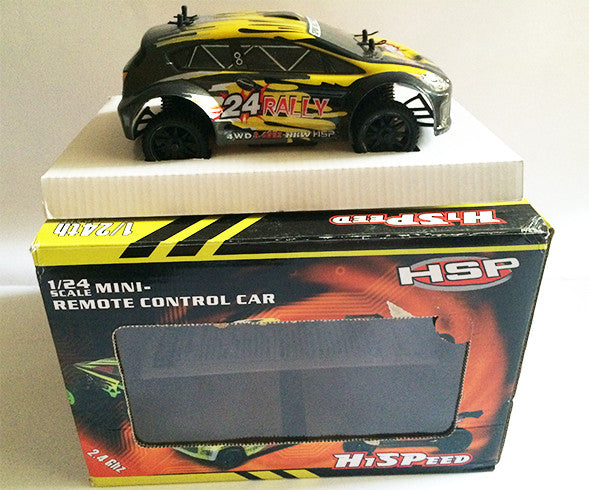 HSP Remote Control Car - RALLY24 Yellow