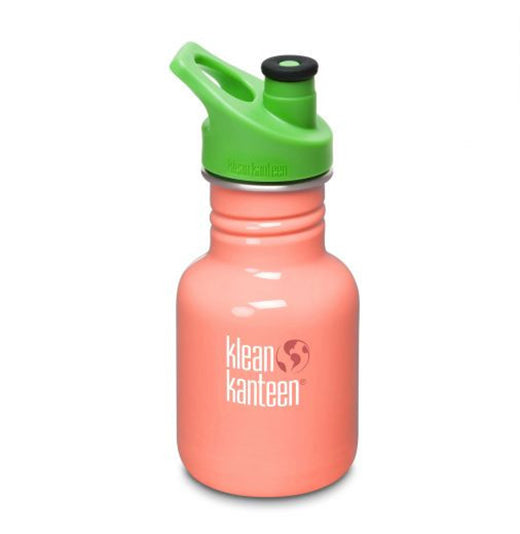 Klean Kanteen BPA-Free, Stainless Steel Sports Bottle for Kids [more colours...]