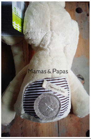 Millie & Boris by Mamas & Papas - Soft Toy Bunny