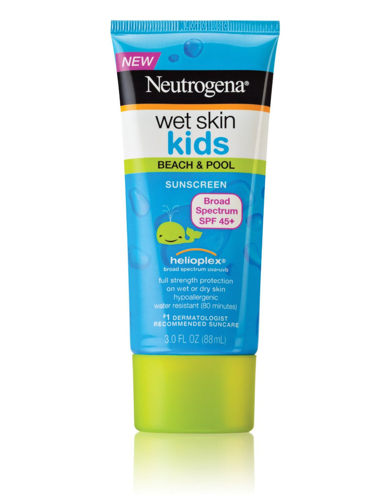 Neutrogena Wet Skin Kids Sunblock Lotion SPF 45+