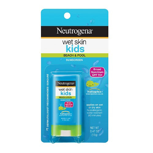 Neutrogena Wet Skin Kids Sunblock Stick, SPF 70
