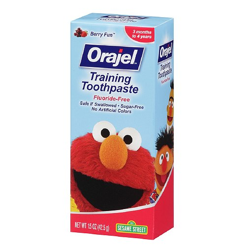 Orajel Toddler Elmo Training Toothpaste, Berry Fun 2oz