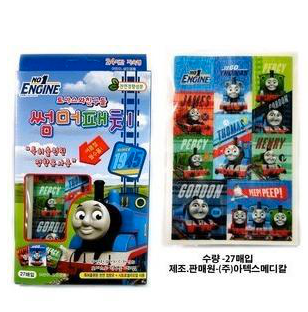 Thomas and Friends Anti-Mosqito Summer Patch - Korea